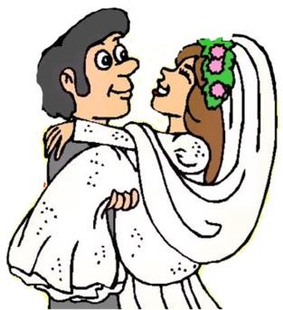 Hochzeitsbrauch über die schwelle tragen