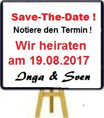 Save-the-Date-Staffelei