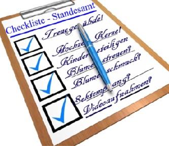 Checkliste Hochzeitsvorbereitung Sechs 6 Monate Bis Zur Hochzeit